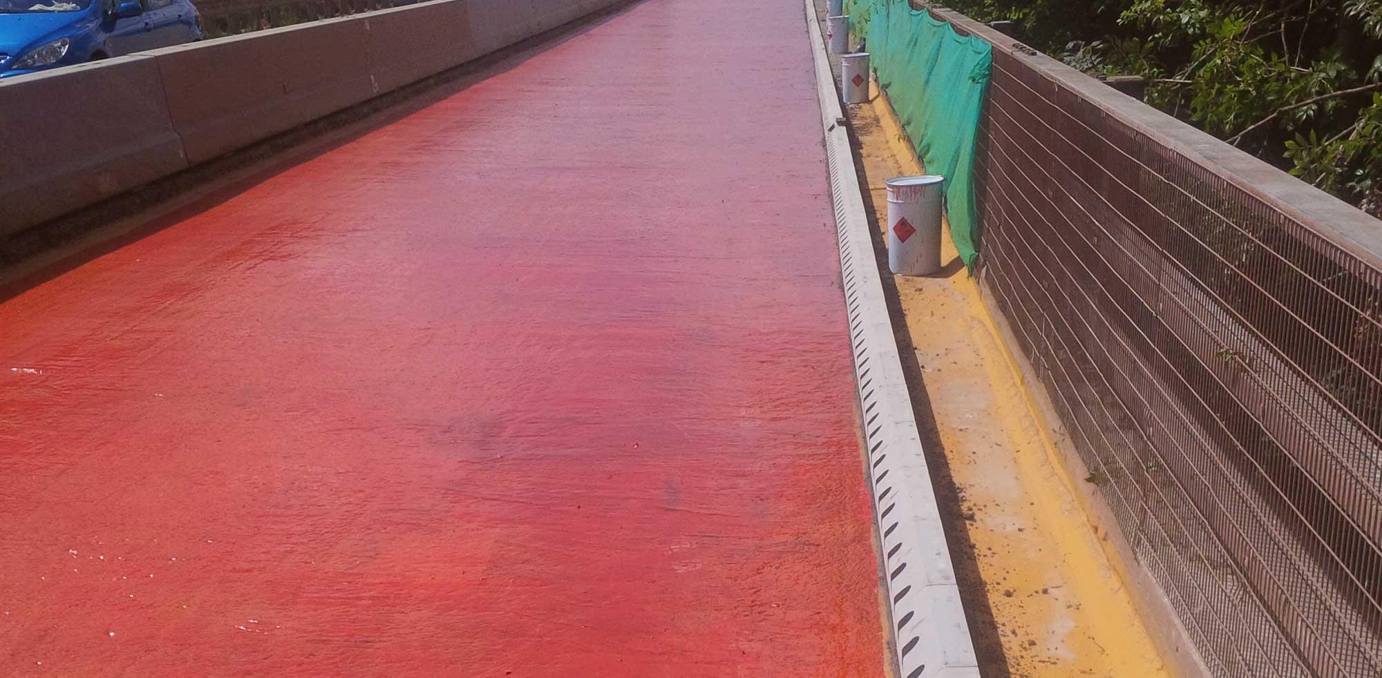 Bridge Deck Waterproofing By Maintenance Plus Ltd