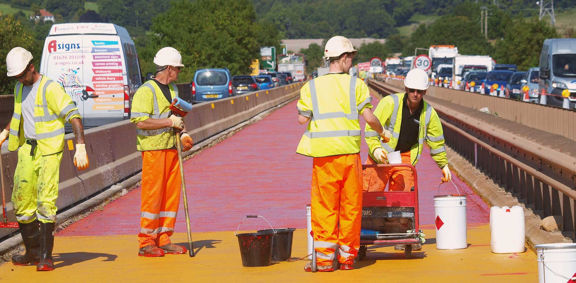 Case Study Of Eliminator Waterproofing - Teign Viaduct, Devon By Maintenance Plus Ltd