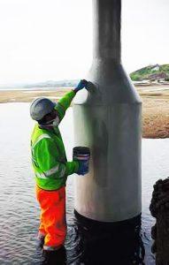 Offshore Splashzone Maintenance & Protection Example #3 By Maintenance Plus Ltd